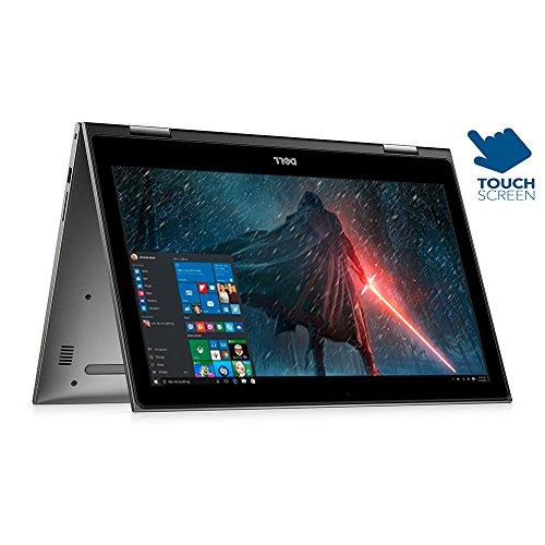 Dell Inspiron 15.6' 2 in 1 Full HD 1920x1080 Touchscreen Laptop PC Intel Core i5-7200U Processor 8GB DDR4 RAM 1TB HDD 802.11AC Wifi Backlit Keyboard Bluetooth Webcam HDMI Windows 10-Gray
