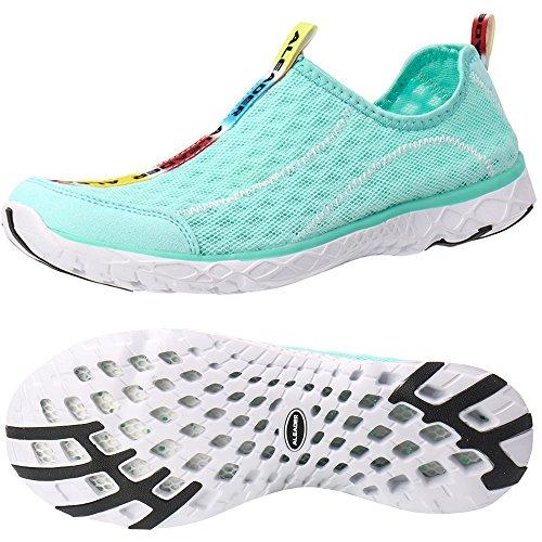ALEADER Women's Mesh Slip On Water Shoes New Mint 10 D(M) US
