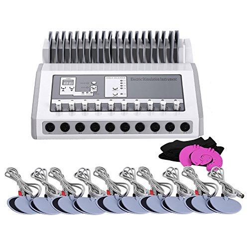 T iNlovEaRTs Bo-dy SLI-mming Equip-Ment Elec-tric Mu-slce Sti-mulator Elec-Trode Mu-scle Sti-mulation Instru-Ment (Round)