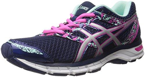 ASICS Women's Gel-Excite 4 Running Shoe, Blueprint/Silver/Mint, 8 M US