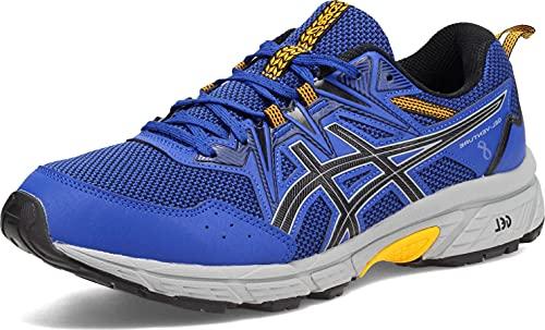 ASICS Men's Gel-Venture 8 Running Shoes, 10.5, Monaco Blue/Black