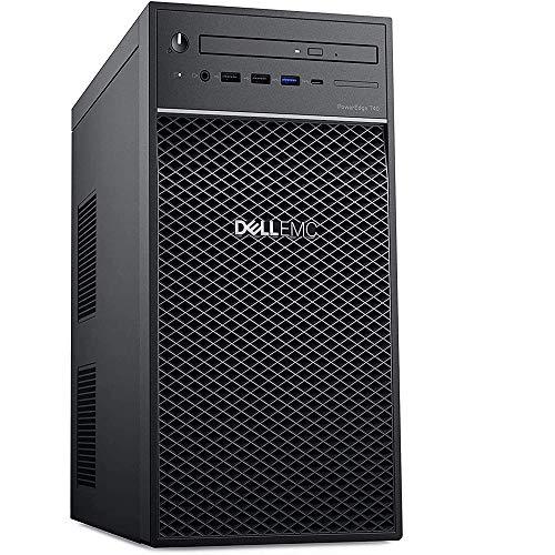 Dell PowerEdge T40 Tower Server 2020 Premium Desktop I Intel Quad-Core Xeon E-2224G 3.5GHz I 8GB DDR4 1TB HDD I DVD USB-C UHD Graphics P630 No Operating System