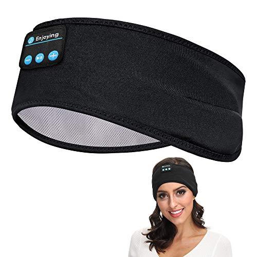Sleep Headphones Bluetooth, Voerou Wireless Headband Headphones Sports Sweatband with Ultra-Thin HD Stereo Speakers for Sleeping,Workout,Jogging,Yoga,Insomnia, Travel, Meditation