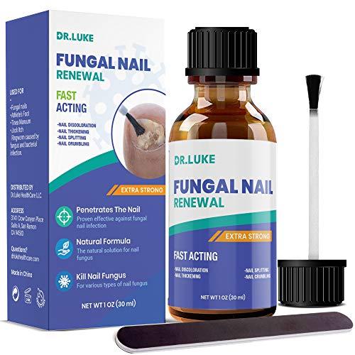 Dr. Luke Finger Nail And Toe Nail Fungus Treatment Extra Strength, Fungal Nail Renewal, Fungus Nail Treatment, Fungi Nail Repair