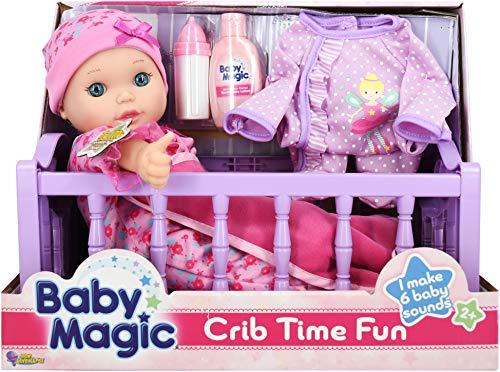 Baby Magic Doll Crib Time Fun