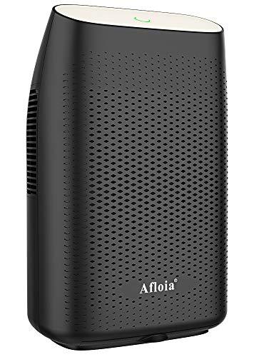 Afloia Electric Dehumidifier for Home Bathroom 2000ML(68 oz),Portable Dehumidifiers for Home 2201 Cubic Feet Space,Quiet Auto-Off Dehumidifiers for Bathroom Kitchen Bedroom Bedroom Closet (Black)