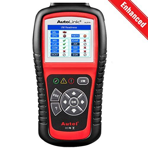 Autel AutoLink AL519 OBD2 Scanner Enhanced Mode 6 Car Diagnostic Tool Check Engine Code Reader CAN Scan Tool, Advanced Ver. of AL319