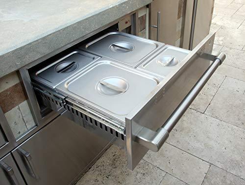 Alfresco Electric Warming Drawer (AXEWD-30), 30-Inch