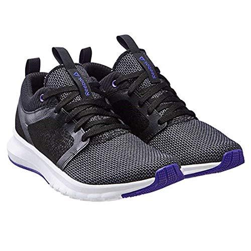 Reebok Womens Print Athlux Shatter Athletic Shoe C-Black/Ashe Grey, Size 8