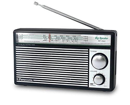 PANASONIC RF-562D AM FM SW Shortwave Transistor Radio - Retro Design (Battery operated)
