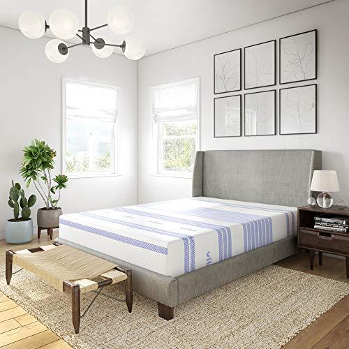 Vibe Gel Memory Foam 12-Inch Mattress / CertiPUR-US Certified / Bed-in-a-Box, Queen