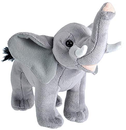 Wild Republic Wild Calls Elephant Plush, Stuffed Animal, Plush Toy, Kids Gifts, 8 inches
