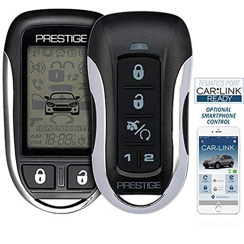 Prestige APS997Z Two-Way LCD Confirming Remote Start & Alarm 1-Mile Range