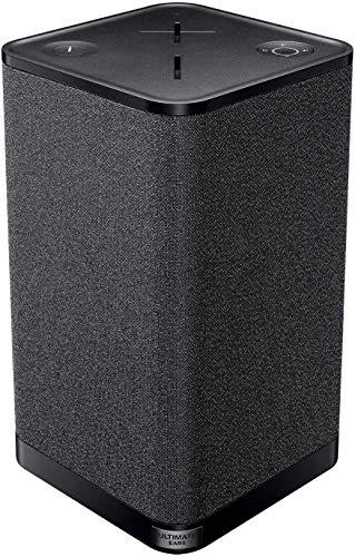 Ultimate Ears Hyperboom Portable & Home Wireless Bluetooth Speaker, Loud Speaker, Big Bass, Water Resistant IPX4, 150 Ft Range – Black (Renewed)