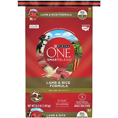 Purina ONE Natural Dry Dog Food, SmartBlend Lamb & Rice Formula - 16.5 lb. Bag