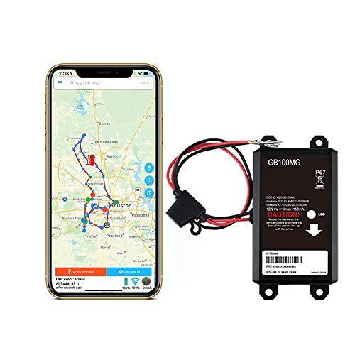 Optimus GB100M 4G LTE - Easy Install on Car's Battery GPS Tracker
