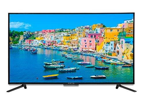 Sceptre UTV 55' 4K Ultra-HDTV 3840x2160 U558CV-UMC 4X HDMI MEMC 120, Metal Black