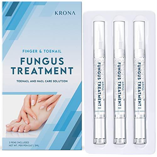 Nail Fungus Treatment - Nail Repair Set, Stop Fungal Growth, Effective Fingernail & Toenail Health Care Solution, Fix & Renew Damaged, Broken, Cracked & Discolored Nails
