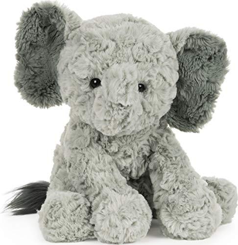 GUND Cozys Collection Elephant Stuffed Animal Plush, Gray, 10'
