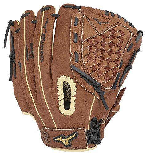 Mizuno GPP1150Y3 Prospect Series PowerClose Baseball Gloves, 11.5', Right Hand Throw