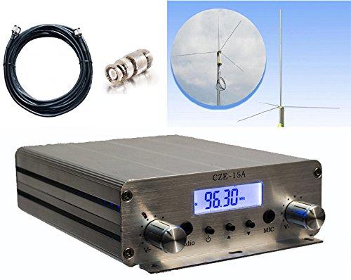 Bundle Deal: Fail-Safe RangeStud 15 W FM Transmitter + RangeMax Professional Grade Antenna ($400 Dollar Value)