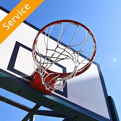 Portable Basketball Hoop Assembly