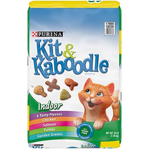 Purina Kit & Kaboodle Indoor Dry Cat Food, Indoor - 16 lb. Bag