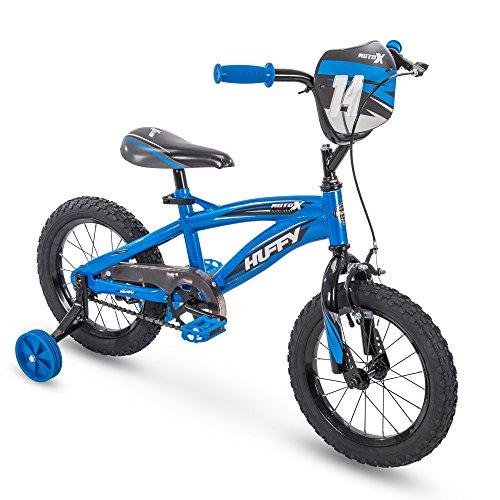 14' Huffy MotoX Boys Bike, Gloss Blue
