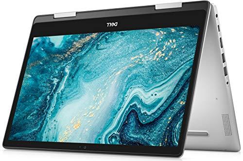 Dell Inspiron 14 5000 2-in-1 convertible Laptop 14 inch, FHD Touchscreen, AMD Ryzen 7 3700U, 512GB SSD, 8GB RAM, Windows 10 home, Silver , i5485-A711SLV-PUS