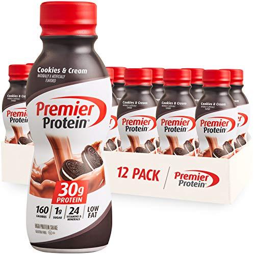 Premier Protein Shake -24 Vitamins & Minerals/Nutrients to Support Immune Health, Vanilla, 138 Fl Oz