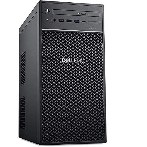 2020 Newest Dell PowerEdge T40 Tower Server Premium Desktop Tower Intel Quad-Core Xeon E-2224G 3.5GHz 8GB DDR4 1TB HDD DVD-RW USB-C Intel UHD Graphics P630 No Operating System