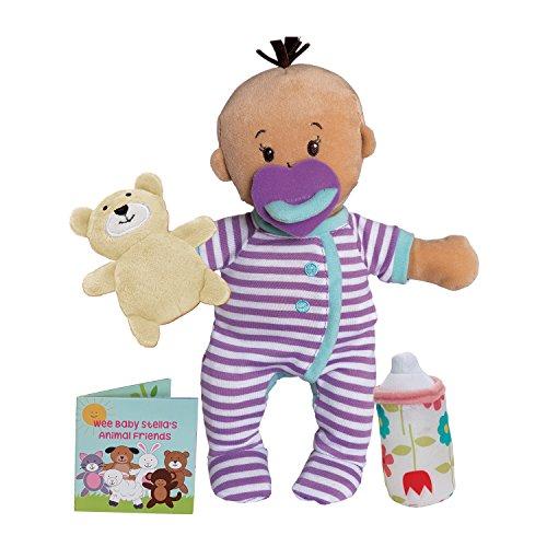 Manhattan Toy Wee Baby Stella Beige Sleepy Times Scent 12' Soft Baby Doll Set