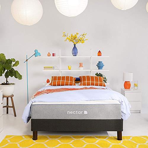 Nectar Queen Mattress - Gel Memory Foam Mattress - CertiPUR-US Certified Foam - Bed in a Box