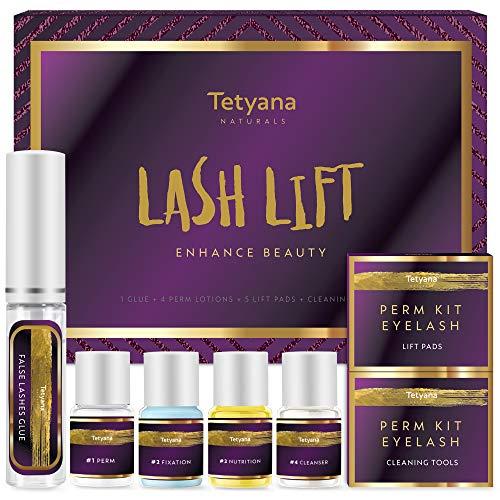 Lash Lift Kit, Eyelash Perm Kit, Eyelash Extensions, Lash Curling, Professional Semi-Permanent Curling Perming Wave, Suitable For Salon