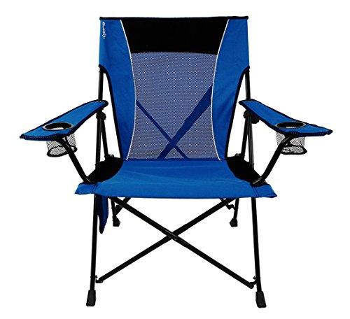 Kijaro  Dual Lock Portable Camping and Sports Chair, Maldives Blue