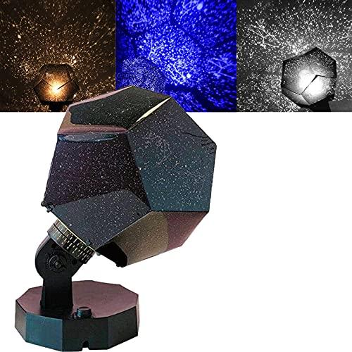 Nova Stars Original Home Planetarium - Realistic Starlight Constellation Projector, Three-Color Star Night Light Projector Lamp Sky Starry Celestial Decor