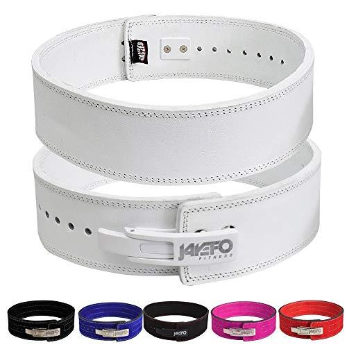 Jayefo Lever Belt (White, M)