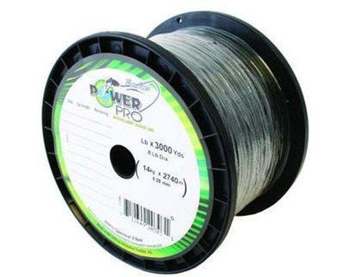 PowerPro Spectra Braided Fishing Line 30lb 3000 Yd, Green (21100303000E)