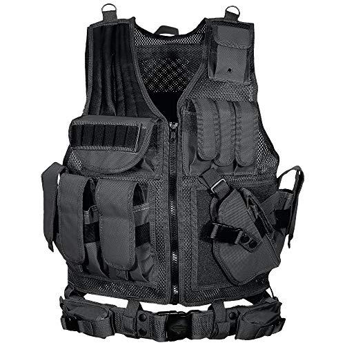 UTG 547 Law Enforcement Tactical Vest, Black