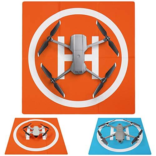 SYMIK LP500E Drone Landing Pad (2x3 fold) Double-Sided Waterproof 20 inch (50cm) Fast-Fold Helipad, Compatible w/DJI Mavic Mini 2, Mavic Air 2, Mavic 2 Pro, Zoom, Mavic Air, Mavic 3, Phantom Series