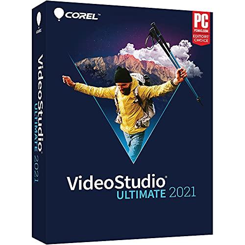 Corel VideoStudio Ultimate 2021 | Video & Movie Editing Software | Slideshow Maker, Screen Recorder, DVD Burner [PC Disc]