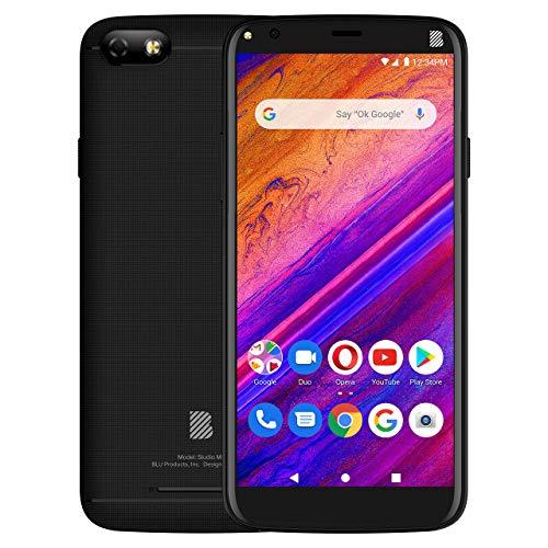 BLU Studio Mini -5.5HD Smartphone, 32GB+2GB Ram -Black