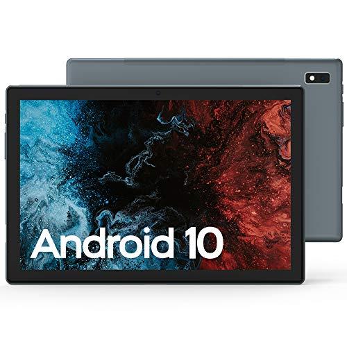 VASTKING KingPad K10 10 inch Tablet, Android 10, 1920x1200 Resolution Octa Core Tablet, Up to 1.8Ghz, 3GB RAM, 32GB ROM, 13MP Rear Camera, Bluetooth 5.0, 2.4G&5G Wi-Fi, GPS, Full Metal Body, Ash Grey