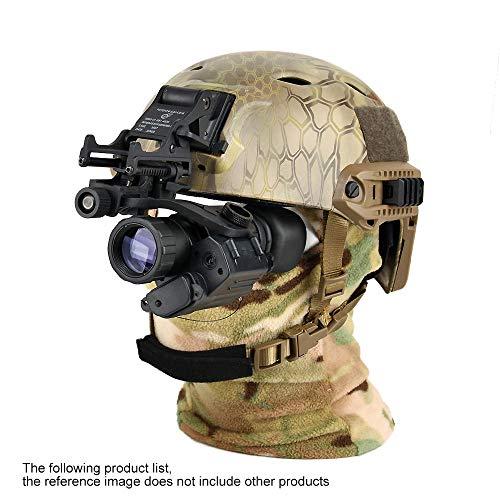 DOTXX 2X28 Monocular Night Vision Goggle, High Power Waterproof Helmet Glasses HD, Suitable for Night Vision Hunting,Withhelmetsmountbracket