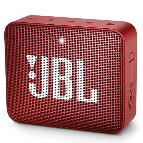 JBL GO2 - Waterproof Ultra Portable Bluetooth Speaker - Red