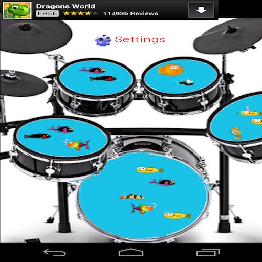 Fish Tank Drums
